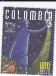 Stamps Colombia -  UPAEP-América  Signos