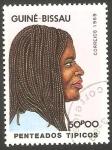Stamps Guinea Bissau -  Peinado típico