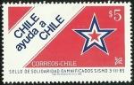 Sellos de America - Chile -  CHILE AYUDA A CHILE - SELLO SOLIDARIO