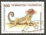 Sellos del Mundo : Asia : Tayikistán : 54 - Reptil