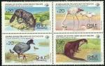 Sellos de America - Chile -  ANIMALES EN PELIGRO DE EXTINCION