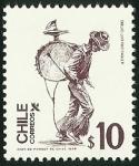 Stamps Chile -  CHINCHINERO - OFICIO