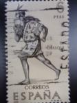 Stamps Spain -  Ed:1757 - CHASQUI - Correo Inca