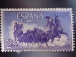 Stamps Spain -  Ed:1255- Tauromaquia -Toros en el Campo-(Fiesta Nacional Española)