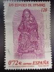 Sellos de Europa - España -  Ed:3809-¨¨Las Edades del Hombre¨-Virgen de la Calva Catedral de Zamora (Talla Románica)