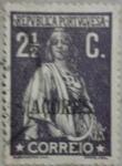 Sellos de Europa - Portugal -  azores correio 1914