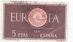 Sellos de Europa - España -  Europa-CEPT 1960            (o)