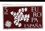 Sellos de Europa - España -  Europa-CEPT 1961            (o)