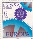 Stamps Spain -  Europa-CEPT 1967            (o)