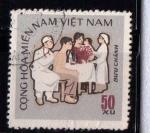 Sellos de Asia - Vietnam -  Salud
