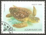 Stamps Azerbaijan -   Tortuga