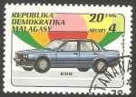 Stamps : Africa : Madagascar :  Automóvil
