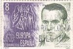 Stamps Spain -  Europa-CEPT 1980 Federico García Lorca            (o)