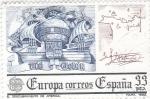 Sellos de Europa - España -  Europa-CEPT 1982 El Descubrimiento de América            (o)