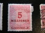 Stamps : Europe : Germany :  Deutsches Reich