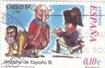 Stamps Spain -  Historia de España- CARLOS IV      (O)