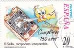 Stamps Spain -  El sello compañero inseparable- CUMPLIMOS 150 AÑOS     (O)