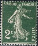 Sellos del Mundo : Europa : Francia :  SEMBRADORA FONDO LLENO 1932-37. Y&T Nº 278. RESERVADO