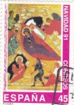 Stamps Spain -  NAVIDAD-91          (O)