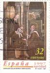 Sellos de Europa - España -  NAVIDAD-97         (O)