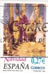 Stamps Spain -  NAVIDAD-04        (O)