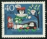 Sellos de Europa - Alemania -  WOHLFAHRT,, SCHNEEWITTCHEN - D.B POST