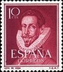 Stamps Europe - Spain -  Lope de Vega