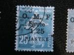 Stamps Syria -  Ocupacion Francesa