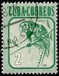 Sellos de America - Cuba -  Loro