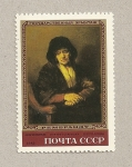 Stamps Russia -  Cuadro mujer