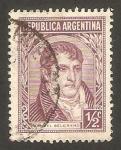 Sellos de America - Argentina -  363 - Manuel Belgrano
