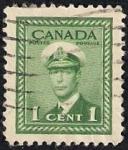Sellos del Mundo : America : Canadá : Rey Jorge VI