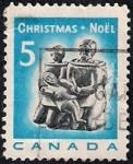 Sellos de America - Canad� -  Navidad