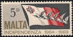 Stamps Europe - Malta -  Independencia