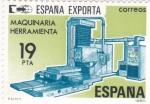 Stamps Spain -  ESPAÑA EXPORTA-  Maquinaria Herramienta               (O)