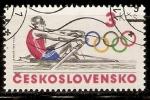 Sellos de Europa - Checoslovaquia -  JUEGOS  OLÌMPICOS  1984