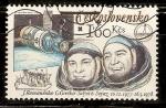 Sellos de Europa - Checoslovaquia -  ASTRONAUTAS