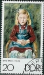 Stamps Germany -  Arte-Pintura Otto Nagel