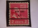 Stamps United States -  JOHN ADAMS  (1735-1826)