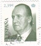 Stamps Spain -  S.M. Don Juan Carlos I     (O)