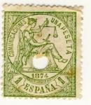 Sellos de Europa - España -  Comunicaciones Ed 1874