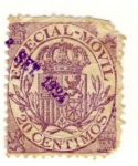 Stamps Europe - Spain -  Especial Movil Ed 1882