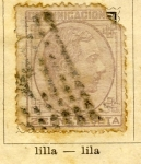 Stamps Spain -  Alfonso XII Ed 1878