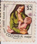 Stamps : America : Colombia :  LAC