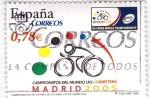 Sellos de Europa - España -  Campeonatos del Mundo de Ciclismo UCI en carretera -MADRID 2005        (O)