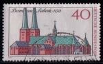 Sellos de Europa - Alemania -  Catedral de Lübeck