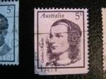 Sellos del Mundo : Oceania : Australia : Caroline Chisholm