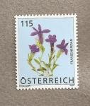 Stamps Austria -  Genciana