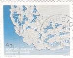 Sellos de Europa - Portugal -  Bordados Artesanales  -Madeira
