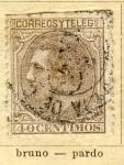Sellos de Europa - España -  Alfonso XII Ed 1879